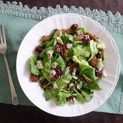 Maple Spiced Pecans Salad