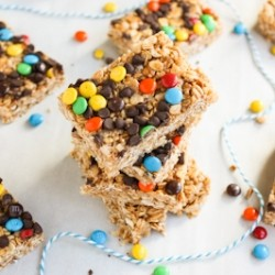 Mini Chewy Granola Bars Recipe