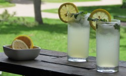 Mint Lemonade with Rum Recipe