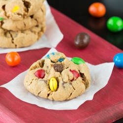 Monster Oats Peanut Butter Cookies Recipe