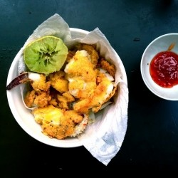 Polenta Fried Cuttlefish Recipe