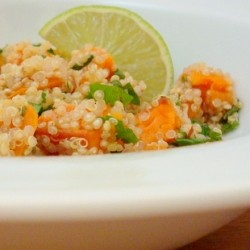 Quinoa with Sweet Potato and Lime