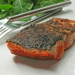 Salmon Fillets with Crispy Skin