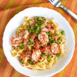 Shrimp Pasta With Fresh Tomato Sauce Recipe