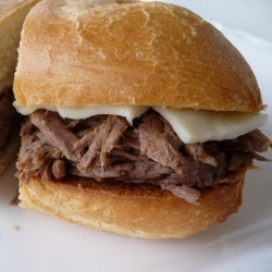 Slow Cooker Beef Recipe for French Dip Sandwiches
