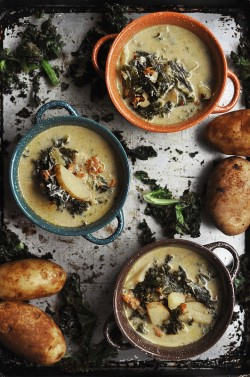 Spicy Sausage Potato Kale Soup Recipe