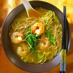 Spicy Shrimp and Cabbage Soup Recipe