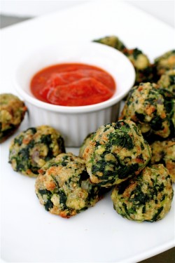 Spinach and Parmesan Bites