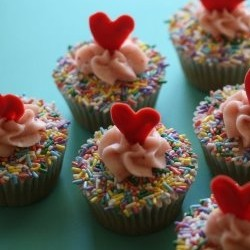 Sprinkles Strawberry Cupcakes