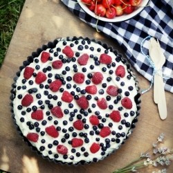 Summer Berry Cake Recipe