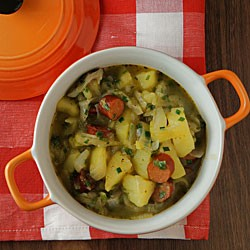 This hearty onion and potato stew is quick to…