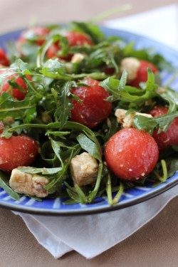 Watermelon Feta Rucola Salad Recipe