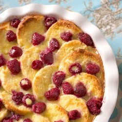 White Chocolate Raspberry Biscuit Bread Recipe