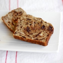 Banana Chocolate Chunk Protein Bread