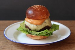 Beef and Marrow Burger Recipe
