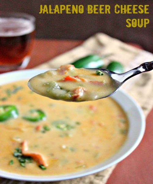Beer Bacon Cheese Soup Recipe