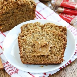 Biscoff Banana Bread with Biscoff Cookie Streusel