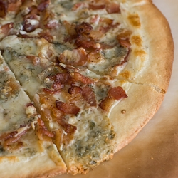 Blue Cheese Bacon Pizza
