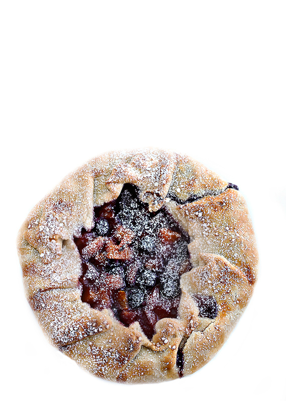 Blueberry Apricot Galette Recipe
