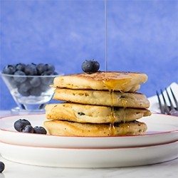 Blueberry Griddle Cakes Recipe