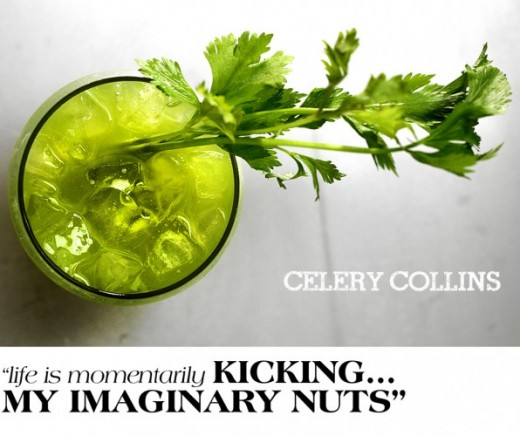 Celery Collins Cocktail Recipe