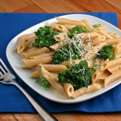 Cheesy Broccoli Penne Pasta Recipe