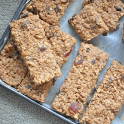 Chocolate Peanut Butter Oatmeal Bar Recipe