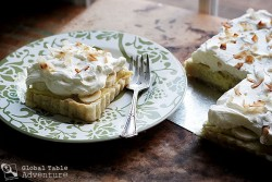 Coconut Banana Tart Recipe