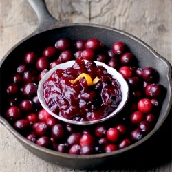 Cranberry Sauce with Ginger Citrus Recipe