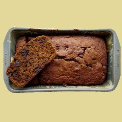 Dark Chocolate Espresso Pumpkin Bread Recipe