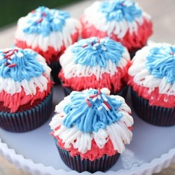 Fireworks Cupcakes Recipe