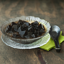 Grass Jelly with Lemon