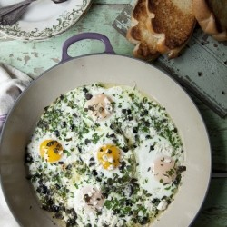 Greek Baked Eggs Recipe