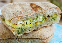 Grilled Summer Vegetable Panini Recipe