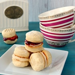 Jam and Buttercream Cookies Recipe