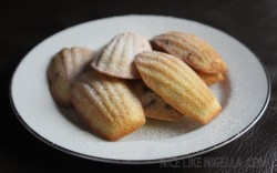 Lemon Chocolate Chip Madeleines Recipe