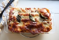 Lightened Up Summer Vegetable Lasagna Recipe