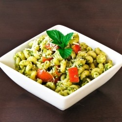 Mine Pesto Pasta Recipe