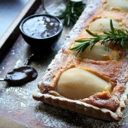 Pear and Rosemary Tart Recipe