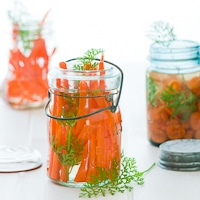 Pickled Carrots Vietnamese Style