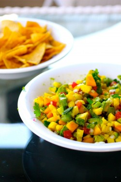 Pineapple Mango Avocado Salsa Recipe