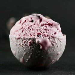 Pomegranate Chocolate Chunk Ice Cream