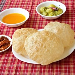 Poori Indian Puffed Breads Recipe
