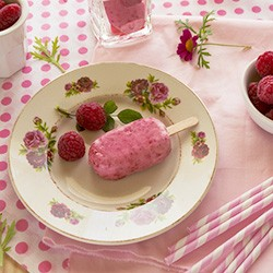 Raspberry Ice Cream Recipe