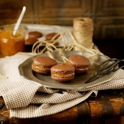 Salted Caramel Chocolate Macaroons