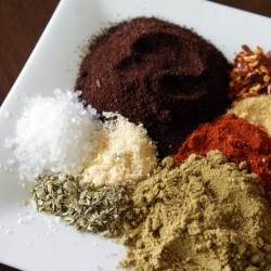 Spice Ingredients for Homemade Taco Seasoning