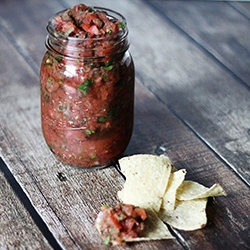 Spicy Adobo Lime Salsa Recipe