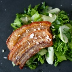 Stegt Flaesk Oven Fried Pork Belly Recipe