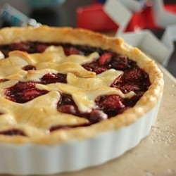 Strawberry Jam Crostata Recipe