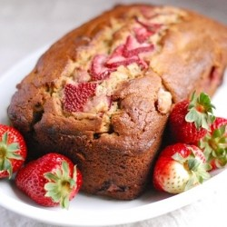 Whole Grain Strawberry Banana Bread Recipe